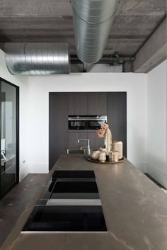 Experience Center, Kitchen Interior, New Homes, Table, Furniture, Home Decor, Houses, Apartment Kitchen, Decoration Home