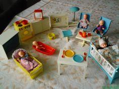 Vintage Dolls, Doll Toys, Childhood Memories, Dollhouse Miniatures, Toddler Bed, Nostalgia, Barbie, Socialism, Doll Houses
