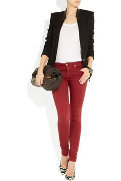 Yes. If only I could pull off red denim..