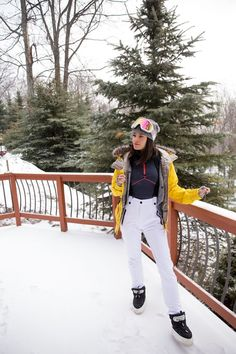 Ski Outfits that are ACTUALLY Cute