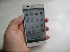 Huawei Ascend P6 Hands-On Preview
