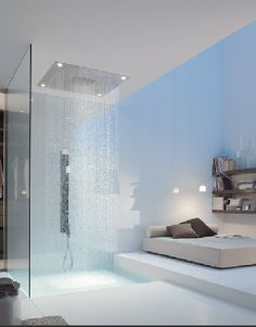 I would never leave that shower.