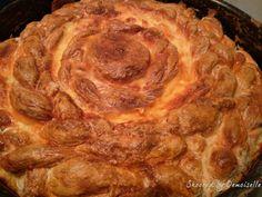 Pasca cu branza sarata Apple Pie, Deserts, Cooking Recipes, Food, Chef Recipes, Essen, Postres, Meals, Dessert