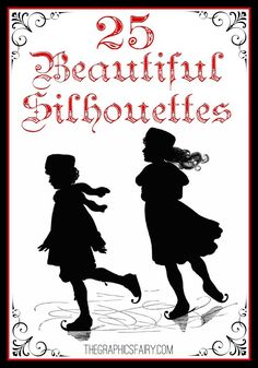 25+ Beautiful Silhouette Images! - The Graphics Fairy