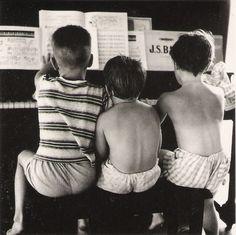 Summer Fun with Johann Sebastian, 1961, Jacques Lowe