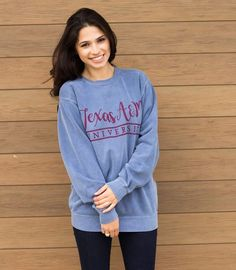 COMFORT COLORS SWEATSHIRT AGGIELAND OUTFITTERS