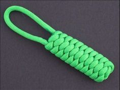 Pupa Paracord Pull Tie - checkout this web site for many more knot tutorials