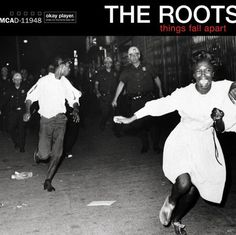 Today in Hip Hop History:The Roots released their fourth studio. Today in Hip Hop History: The Roots released their fourth studio album Things Fall Apart February 23 1999 Greatest Album Covers, Iconic Album Covers, Cool Album Covers, Cd Cover, Cover Art, Book Covers, Music Covers, J Dilla, Jill Scott