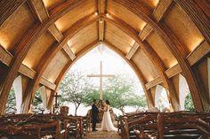 Rustic Woody Chapel | Photo: Erwin Leyros