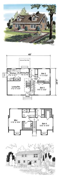 1000 ideas about cape cod bedroom on pinterest built in for Small cape cod house plans under 1000 sq ft