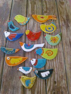 Aves cerámica EB!!!!!!