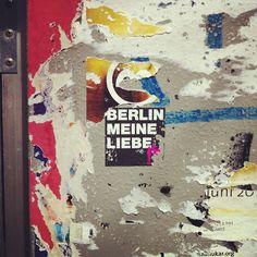 #Berlin my love More information on Berlin: visitBerlin.com