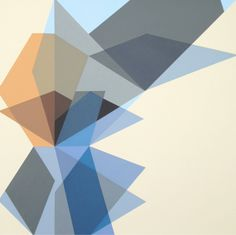 "Richard Blanco Untitled. 4.1.12 acrylic on canvas 20""x20"" #art #abstract #geometric"
