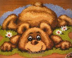 ковровая техника схема -