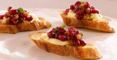 Рецепт приготовления Французские тосты с гранатом