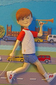 Qué bello!  Boy and cars by People Too , via Behance