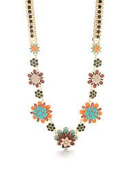 kate spade new york® Floral Statement Necklace
