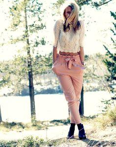 lace and blush