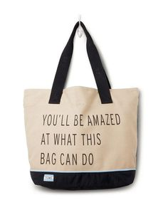 Toms Tote - Transport Khaki You\u0027ll Be Amazed What This Bag Can Do