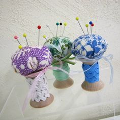 wooden spool Crafts | love wooden sewing spools as they instantly add the cute factor to ...
