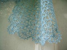 clochette bleu crochet étole 057