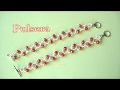 # DIY - Pulsera en blanco y rojo, San Fermin - YouTube