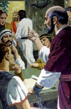 Paul Bible Photos, Bible Pictures, Jesus Pictures, Christian Church, Christian Art, Paul The Apostle, 1st Century, Art Base, New Testament