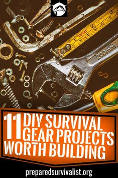 DIY Survival Gear - we bring your 11 of the best DIY survival gear projects that we could find the internet so you don't have to spend time sifting through the millions of DIY survival gear projects you can find.