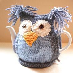 Granny Square Tea Cosy @ etsy.com Owl Te...