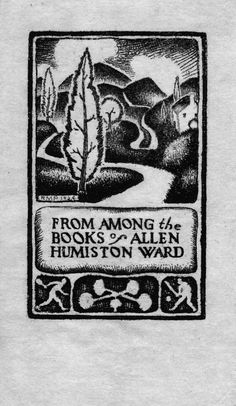 Ralph M Pearson, Bookplate Collection Detail | Los Angeles Public Library