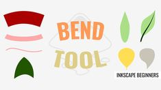 Inkscape 1.0: Bend Tool (Live Path Effects) Text Effects, The Creator, Tools, Live, Learning, Tutorials, Youtube, Advertising, Plants