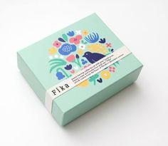 Cookie Packaging, Food Packaging Design, Packaging Design Inspiration, Brand Packaging, Graphic Design Inspiration, Box Design, Illustrations, Etsy, Stationery