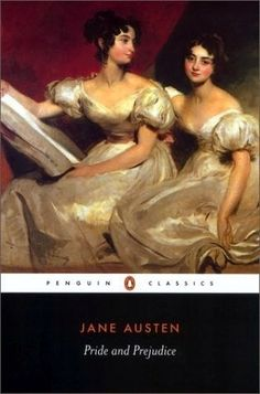 Jane Austin. I saw this painting last weekend and thought of Pride & Prejudice! :)