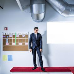 Tonight @trevornoah takes over as host of The Daily Show on @ComedyCentral. He has the formidable task of succeeding Jon Stewart who over his 16-year tenure helped transform the program into a pointed and influential commentary on politics and the media. @chadbatka photographed @trevornoah at @thedailyshow offices in New York on #nytassignment. by nytimes