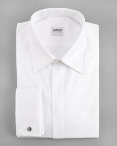 White Dress Shirt by Armani Collezioni. Buy for $295 from Neiman Marcus