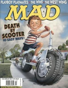 Cover for MAD (EC1952 serie) #402 - FEBRUARY 2001