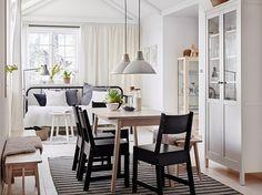 イケアから、ダイニングテーブルの大定番〈NORRÅKER/ノッルオーケル〉登場。   カーサ ブルータス
