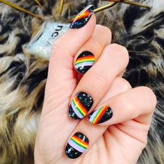 30 simple nail art designs you can do yourself 27 Simple Nail Art Designs, Easy Nail Art, Nude Nails, Acrylic Nails, Black Nails, Gel Manicure, Pedicure, Creative Nails, Holiday Nails