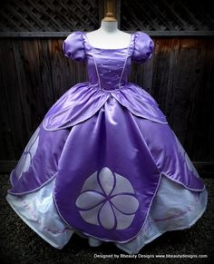 Sofia the First Princess Inspired Dress Gown Adult by