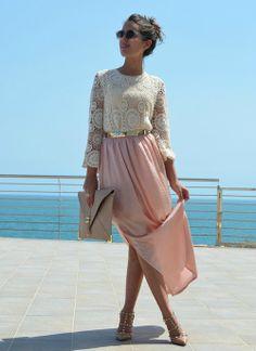 elegant lace top