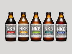 Nathan Parker - Nordic Kiwi Brewers #Packaging #Design — World Packaging Design Society / 世界包裝設計社會 / Sociedad Mundial de Diseño de Empaques