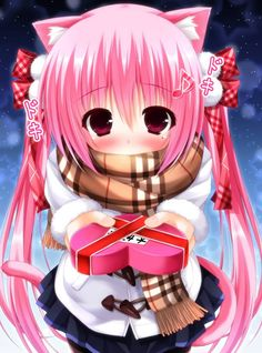 24 Best Valentine S Day Anime Images Anime Girls Drawings