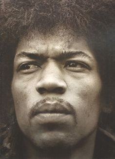 Jimi Hendrix- Wow- one of the most intense photos i've seen of Hendrix- when he's not playing guitar.... such a fascinating man.