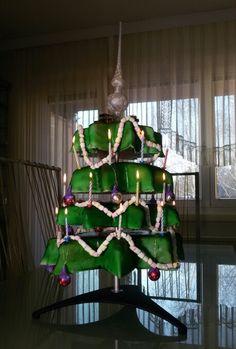 Weihnachtsbaum Torte claudchiscakeworld.webnode.at