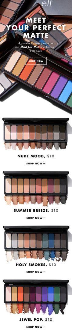 Meet your matte #palette #matte #mua #makeup