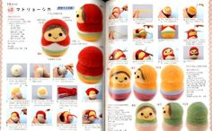 Very Easy Needle Felt Mascots DONE in 1 Hour Japanese Craft Book | eBay