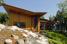 Medomak River House | Anmahian Winton Architects | Photo: Jane Messinger | Archinect