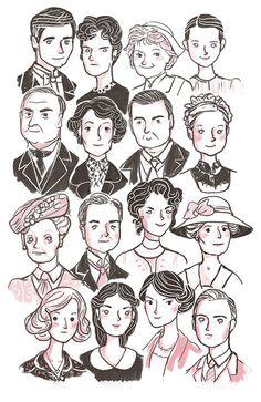 Downton Abbey by Giovana Medeiros, via Flickr