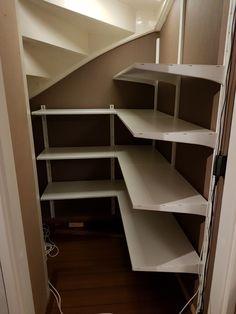 Trappenkast voorraad indeling Algot Ikea