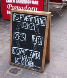 Is everything okay? #bar #funny